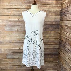 Raya Sun Embroiderd Sequin Sleeveless Indian Dress